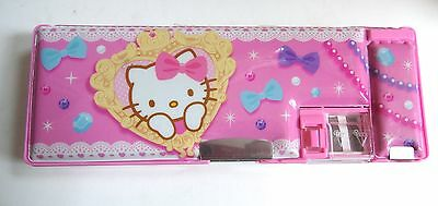 2013 Sanrio Hello Kitty Pencil Case Pencil Box - Hello Kitty Japan