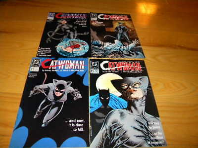 Catwoman 1989 DC Comic Books 1-4  MATURE READERS