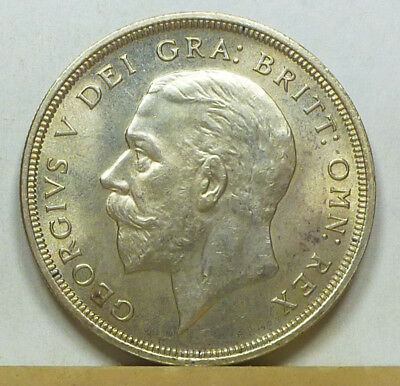 Great Britain Crown 1928 Almost Uncirculated
