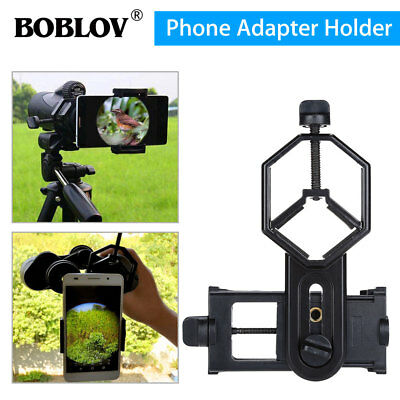 Spotting Scope Microscope Mount Holder for Mobile Phone Camera Adapter Universal