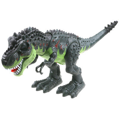 LED Light Up T-Rex Walking Dinosaur Kids Toy Xmas Gift Figure With Sounds Real