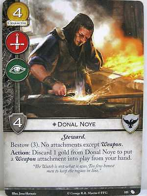 A Game of Thrones 2.0 LCG - 1x #105 Donal Noye - The Brotherhood without Banners