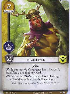 A Game of Thrones 2.0 LCG - 1x #107 Patchface - The Brotherhood without Banners