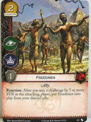 A Game of Thrones 2.0 LCG - 1x #113 Freedmen - The Brotherhood without Banners