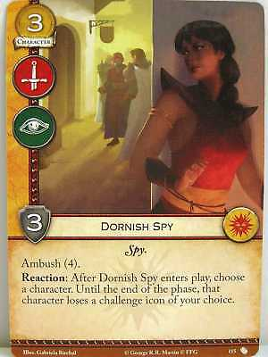 A Game of Thrones 2.0 LCG - 1x #115 Dornish Spy - The Brotherhood without Banner