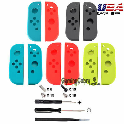 Left Right Housing Shell Skin With Screwdriver Tools for Nintendo Switch Joy-Con
