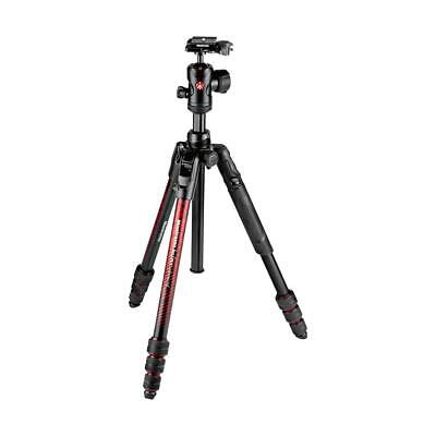 Manfrotto Befree Advanced Twist Aluminum Travel Tripod with Ball Head, Red