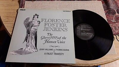 LP - Florence Foster Jenkins - The Glory ???? of the Human Voice - RCA