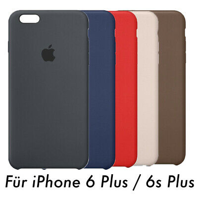 Original Apple iPhone 6 Plus / 6S Plus Leder Case  Cover Hülle ! - Viele Farben