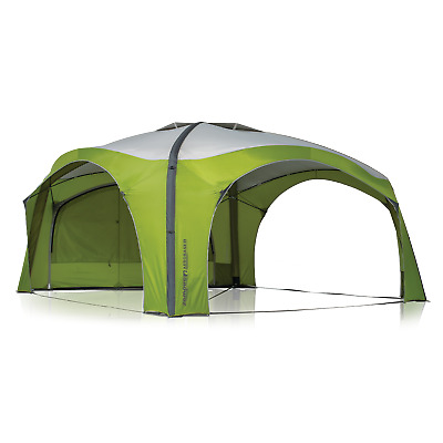 Zempire Aerobase 4 Inflatable Dome Shelter Plus 1 Wall - Green/Grey