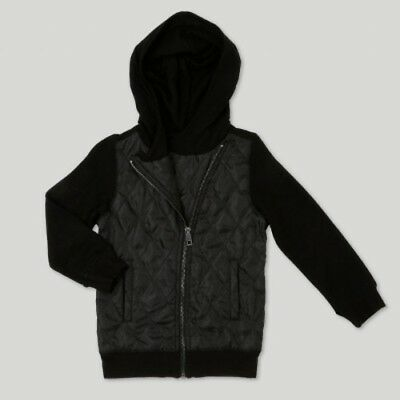 NEW Toddler Girls' Afton Street Quilted Jacket Black 5T