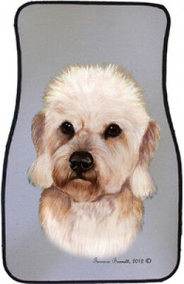 Car Floor Mats Pair - Dandie Dinmont Terrier 36210