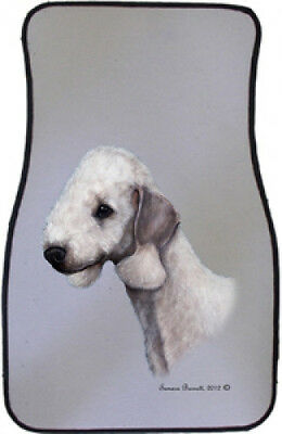 Car Floor Mats Pair - Bedlington Terrier 36161