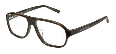 New Trussardi 12728 Old School/mob Mafia Boss Hip Aviator Eyeglass Frame/glasses