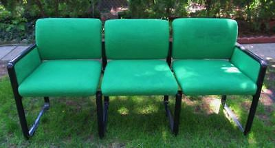 "Couch Sofa Xmas Green Modernist Industrial Mid Century Modern Christmas 67"" Long"