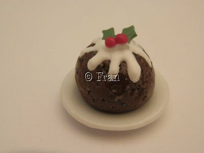 Dolls house food: Christmas pudding  -By Fran