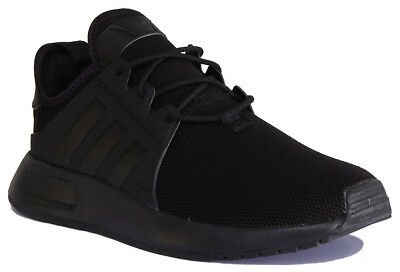 Adidas X PLR Junior Youth Mesh Black Lace Up Trainers UK Size 3 - 6,5