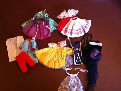 """lot of 4 Original outfits  for your  8"""" Madame Alexander dolls"""