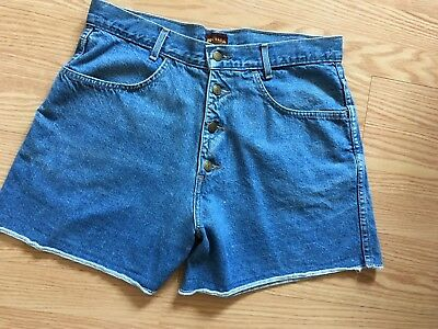 Nevada Jeans Wear High Waisted Vintage Jean Shorts