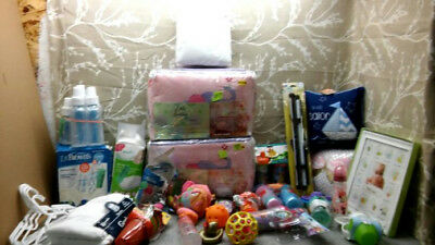 Baby Items Bottles, Sippy Cups, Crib Bumpers, Play Pen Sheet, Pillows, Toys, etc