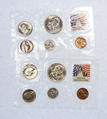 1959 Philadelphia & Denver Uncirculated coin Sets Nice BU - 10 Coins