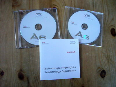 Audi A6 press issue photo CDs x 3 in cases & wallet, excellent condition, 2011