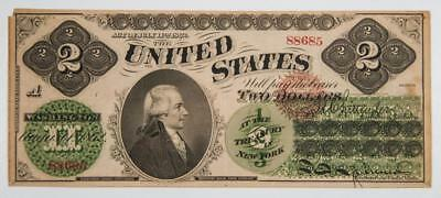 1862 $2 Legal Tender Note Fr#41 Item#J1955