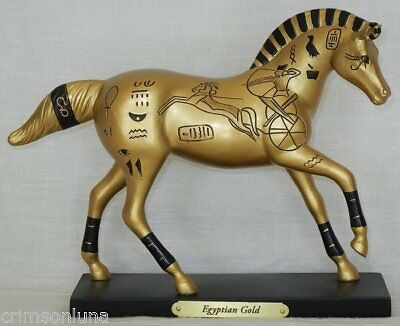 EGYPTIAN GOLD 1E 0458 NEW 2016 Ancient Pharaoh Mystery Trail Painted Ponies