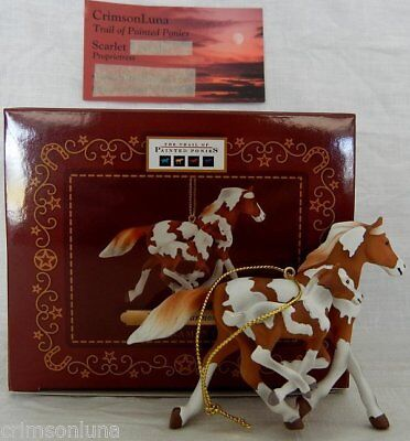"Painted Harmony ORNAMENT 2.5"" Tall 2014 Trail of Painted Ponies APHA Mare Foal"
