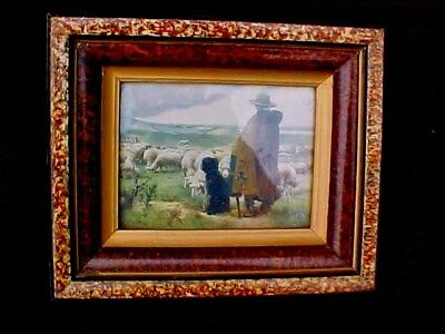Antique picture frame. Antique Eastlake Victorian style shadow box picture frame