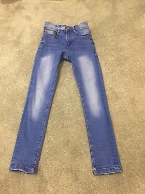 Boys Blue Super Skinny Denim Jeans Age 9 Years From Next