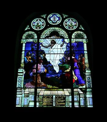 The Ascension of Our Lord Stained Glass Window
