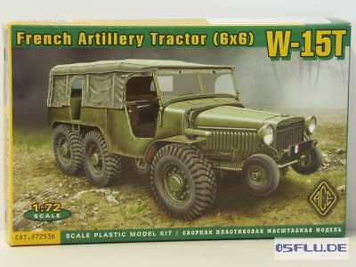ACE 1:72 72536 W-15T French WWII 6x6 artillery tractor - NEU!