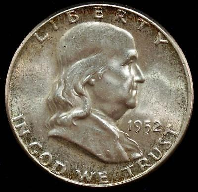 1952-P Franklin Half Dollar Brilliant Uncirculated BU MS++