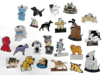 Lot 4 Pins Pin's Annimaux Annimal Chien Dogs Dog