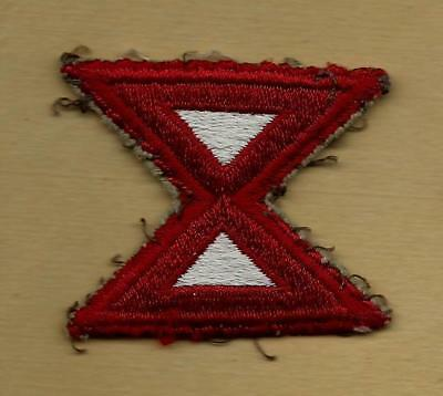 Original Ww2 Us Army 10Th Army Patch Worn Pacific Theater Of Operations
