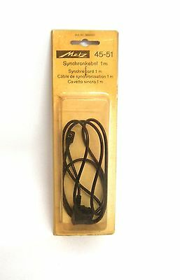 Metz 1m Synchro Cable model 45-51 for Metz 45CT-1  ----- M9