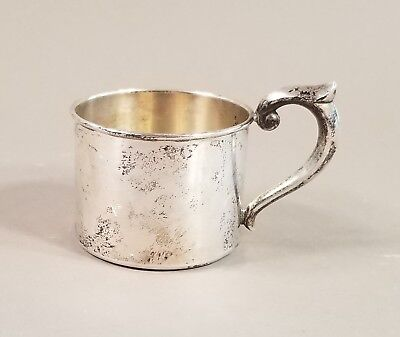 Antique Vintage Newport Sterling Silver Baby Child Cup Mug 1.08 Ounces
