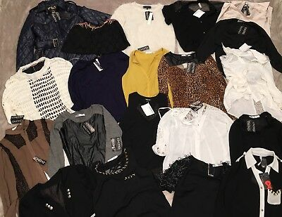 20 NWT Wholesale Resale Lot Juniors Womens Clothes Small S Tops shirts Blouses