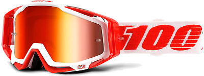 100% Racecraft Bike Goggles Bilal (Red Mirror Lens) 2018