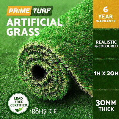 2m x 5m Synthetic Turf Artificial Grass Plastic Plant Fake Lawn Flooring 40mm