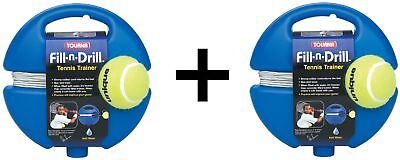 Tourna Fill n Drill Trainer Youth Tennis Practice Training Kids Aid 2-Pack