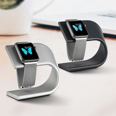 For Apple Watch Charging Holder Stand, For Apple iWatch Stand Aluminum Dock