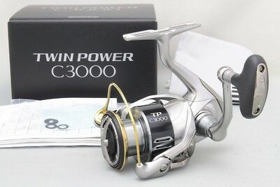Shimano 15 TWIN POWER C3000 Spinning Reel New!