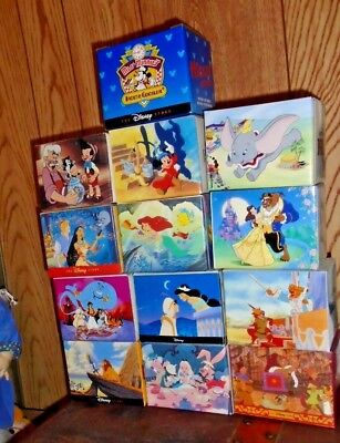 Lot of 13 Disney Classic Store Coffee Cups Mugs - All in Boxes~ minty boxes~ cup