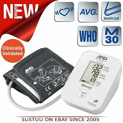A&D Medical UA651BLE Blood Pressure Monitor│Bluetooth│Smart Sense│Low Energy│New