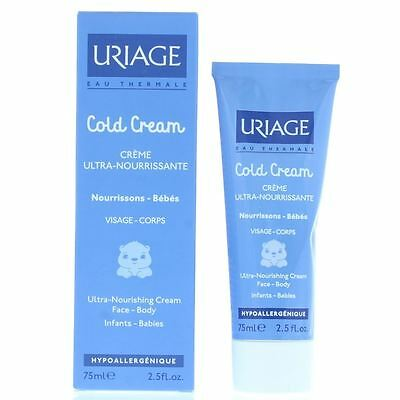 Uriage Cold Cream Ultra-Nourishing Cream 75ml Face-Body Babies