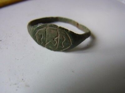 Ancient Bronze Casting Beautiful RING !!!
