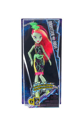 New Official Monster High Venus Mcflytrap Electrified Doll