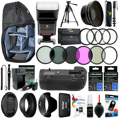 Canon EOS Rebel 70D 80D Camera Everything You Need Accessory Kit / 67MM Bundle
